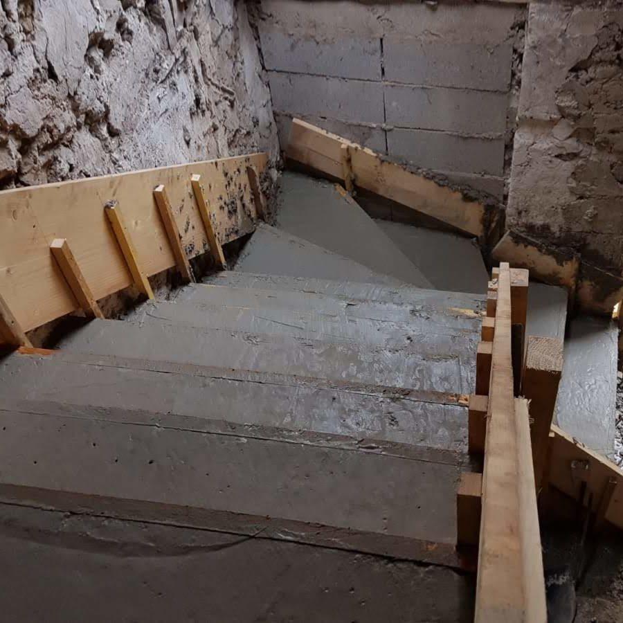 escalier lot3 - 2 bis